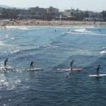 Entrenamiento paddle surf