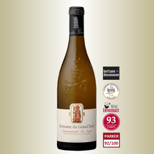 Grand Tinel Chateauneuf du Pape Blanc 2016