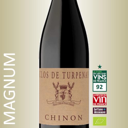 Chateau de Coulaine Chinon Clos de Turpenay 2015 Magnum
