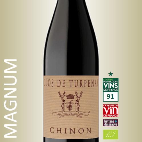 Chateau de Coulaine Chinon Clos de Turpenay 2018 Magnum