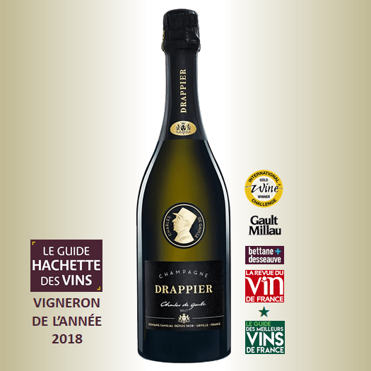 Champagne Drappier Charles de Gaulle