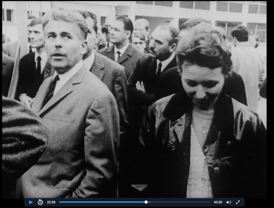 Henry Louis BELMONT et Suzanne ZEDET_Grêve chez YEMA_1968