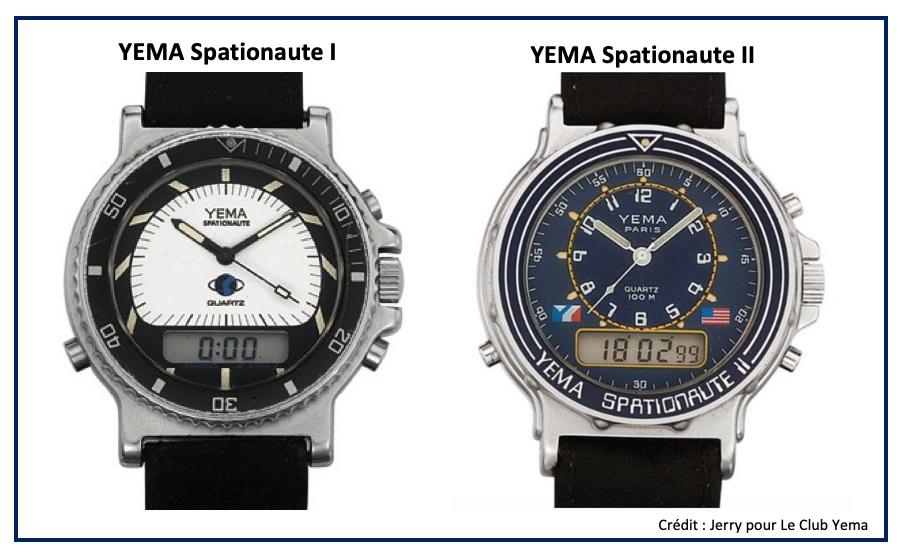 YEMA Spationaute I et YEMA Spationaute II Jean Muller Richard MILLE