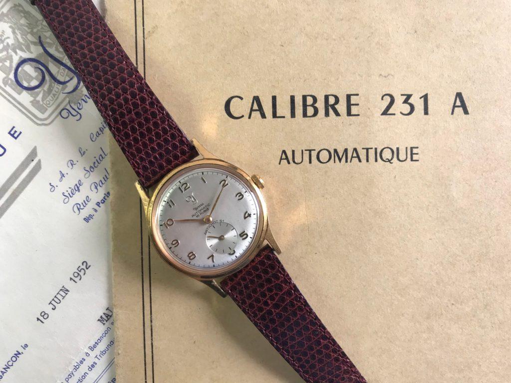 YEMA_231 A_Montre automatique Cal 231 A_1951_06_Crédit Jerry