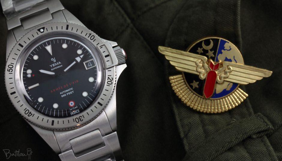 Yema superman armée de l'air 2020 BATILOU