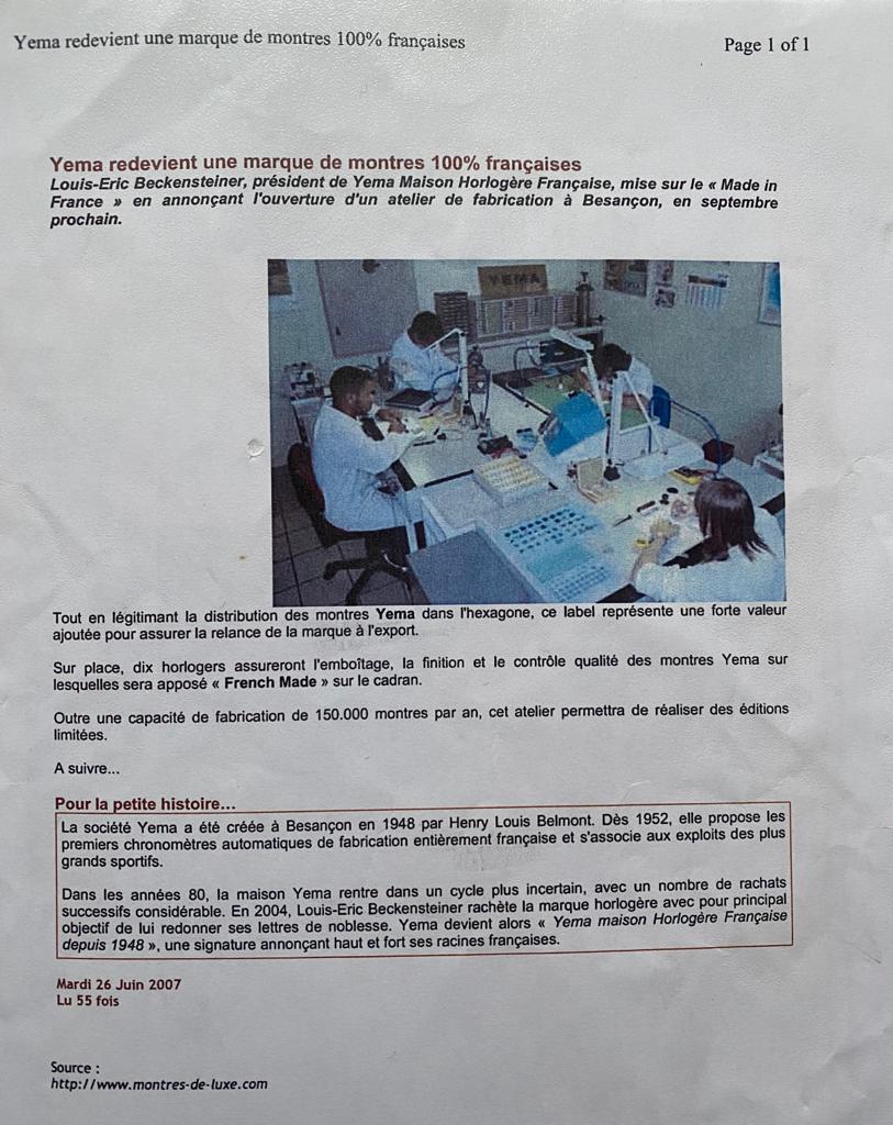 atelier rue hilaire de chardonnet 2005 yema