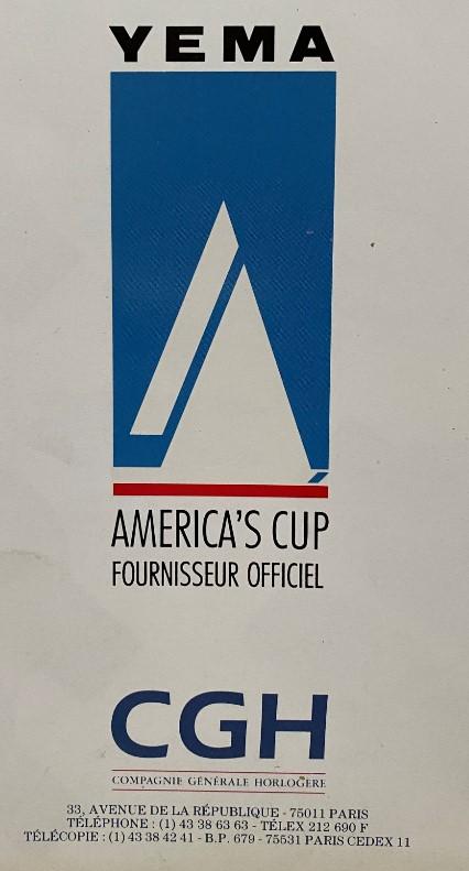 America's Cup yema CSG