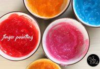 Edible Gluten-free Finger Paint