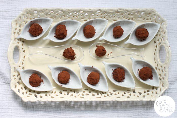 Crickets in Chocolate Truffles