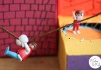 Rotating Toys and Playmobil Play Aera