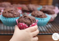 'Free From' Banana and Chocolate Muffins