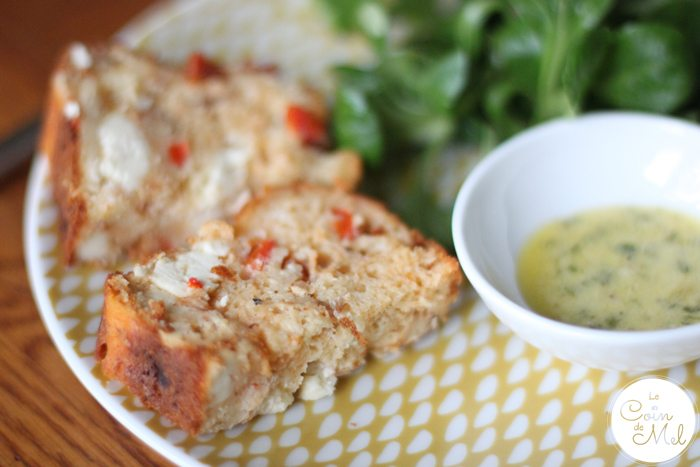 Mackerel Loaf with Salad