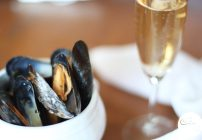 Mussels in Champagne Sauce
