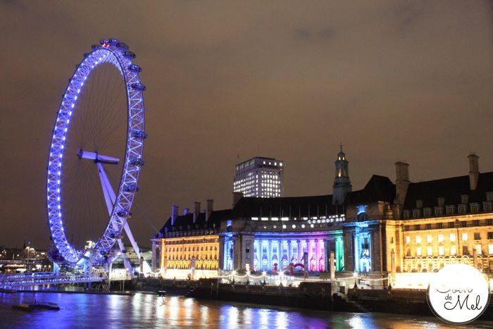 London - The London Eye & the Sealife Centre