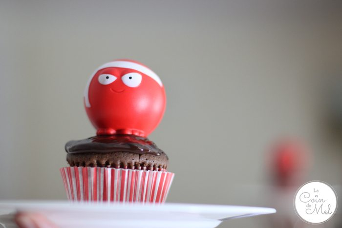 Red Nose Day Cupcake
