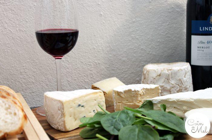 Wine Pairing for Dummies - Cheese and Merlot