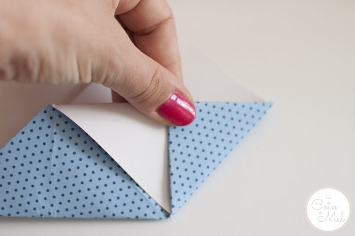 How to Make a Corner Bookmark 11