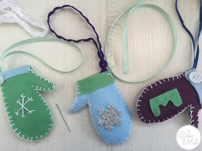 Christmas Crafts Make A Mitten Ornament