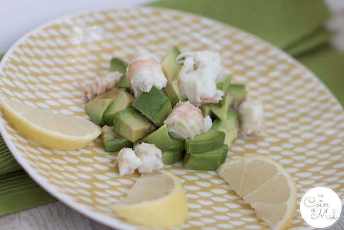 Langoustines - Where to Get Them, How to Cook Them, How to Peel Them - Langoustine, avocado, lemon juice