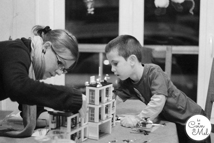 Crevette Using LEGO to Improve his Writing Skills - Fun with Tata