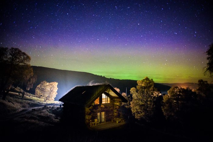 Holidays of a Lifetime at Eagle Brae - Northern Lights - Photo Credit of Eagle Brae
