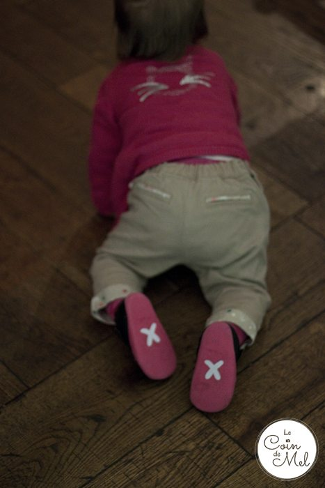When Should My Baby Start Walking - Crawling with her Bobux Shoes