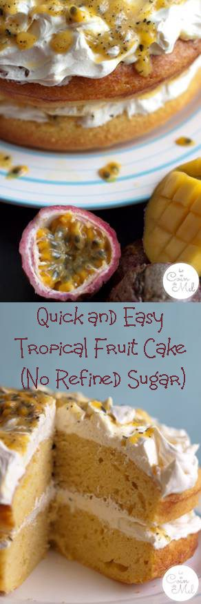 Tropical Fruit Cake