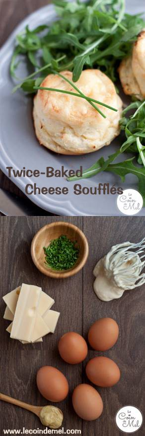 The Easiest Way to Make a Cheese Soufflé - Twice-Baked Cheese Soufflés - So Easy