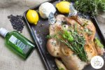 I have just found the perfect way to cook chicken or turkey and make sure it's always moist and full of flavours: by brining it before roasting! This recipe is so simple I'll always brine poultry before cooking it! The gin and lime twist makes all the difference! It's also 'free from' the top 14 allergens, making it the perfect free from Christmas recipe. The Top 14 Allergens:cereals containing gluten: wheat, rye, barley, oats if not GF,dairy,eggs, soya,lupin,sesame,celery and celeriac,sulphites,mustard,fish,tree nuts (almonds, hazelnuts, walnuts, cashews, pecans, brazils, pistachios, macadamia nuts), peanuts,molluscs,crustaceans. Recipe via www.lecoindemel.com