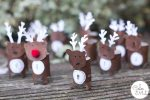 Easy Reindeer Advent Calendar