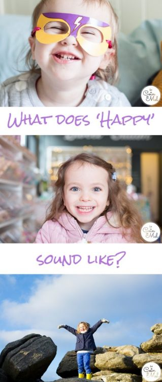 What does 'happy' sound like to you? There are so many sounds that trigger happiness. Have you got any favourite happy sounds?