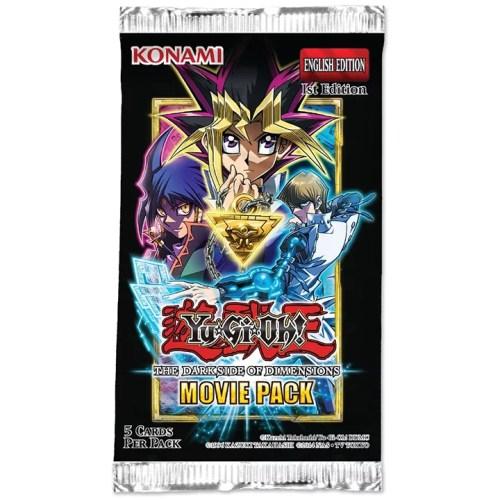 Booster Unitaire Movie Pack The Dark Side of Dimensions – Secret Edition en Français