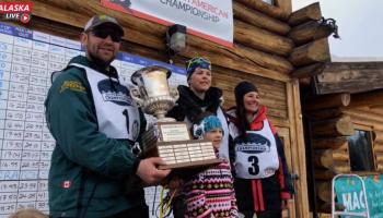 Photo du podium de l'ONAC 2019 (Open North American Championship)