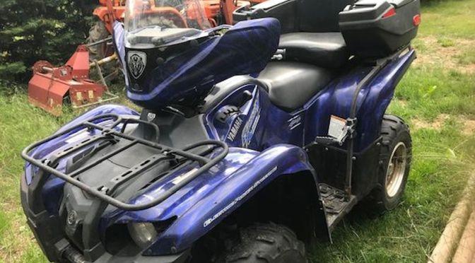 DÉJÀ VENDU – Quad Yamaha 700 Grizzly à vendre