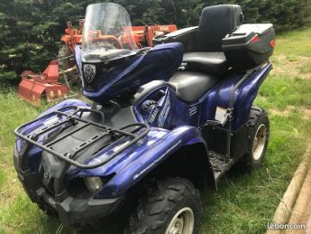Quad Yamaha 700 Grizzly EFI en très bon état à vendre.