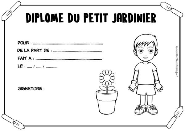 diplome jardinier