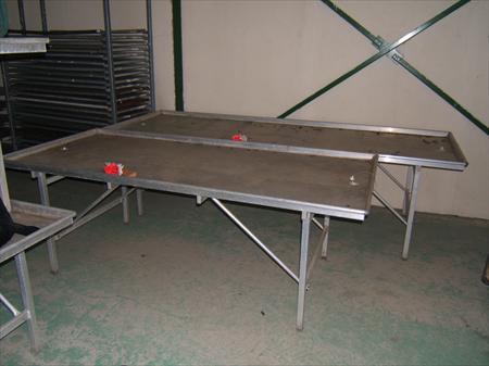 tables alu acier galva presentation