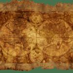 Une carte comme à l'époque