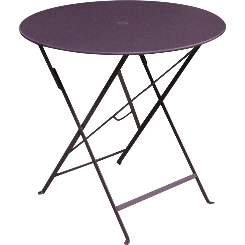 Table De Jardin Rectangulaire Pliante Acier Laque Bistro | Chaise De ...