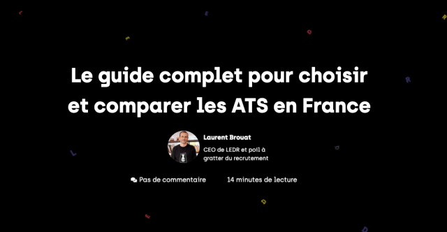 guide complet ats gestion candidatures recrutement