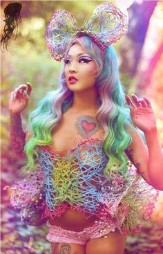 Réussir les plus beaux opal hair, le coloriste