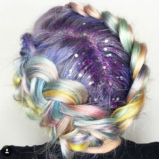Les cheveux couleurs macarons inpirés de la patisserie,lecoloriste