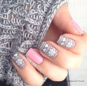 des ongles rigolos pour la période des fêtes, lecoloriste
