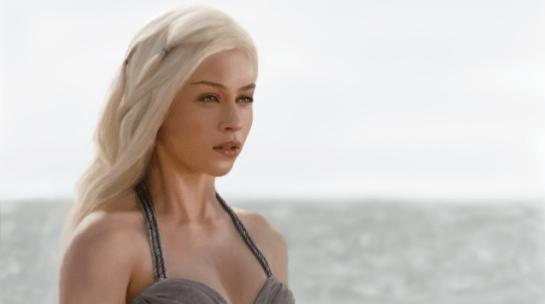 The hidden face of Emilia Clarke in Game Of Thrones