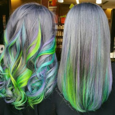 10 techniques de coloration cheveux underlights