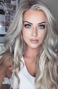 Is the hair colored gray the new blond ? all about ...
