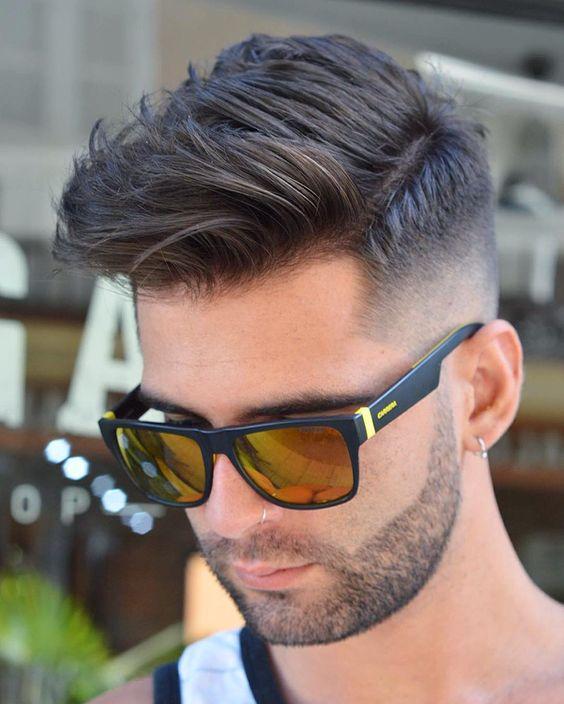 Les tendances coupe de cheveux pour homme Automne,Hiver 2017,2018