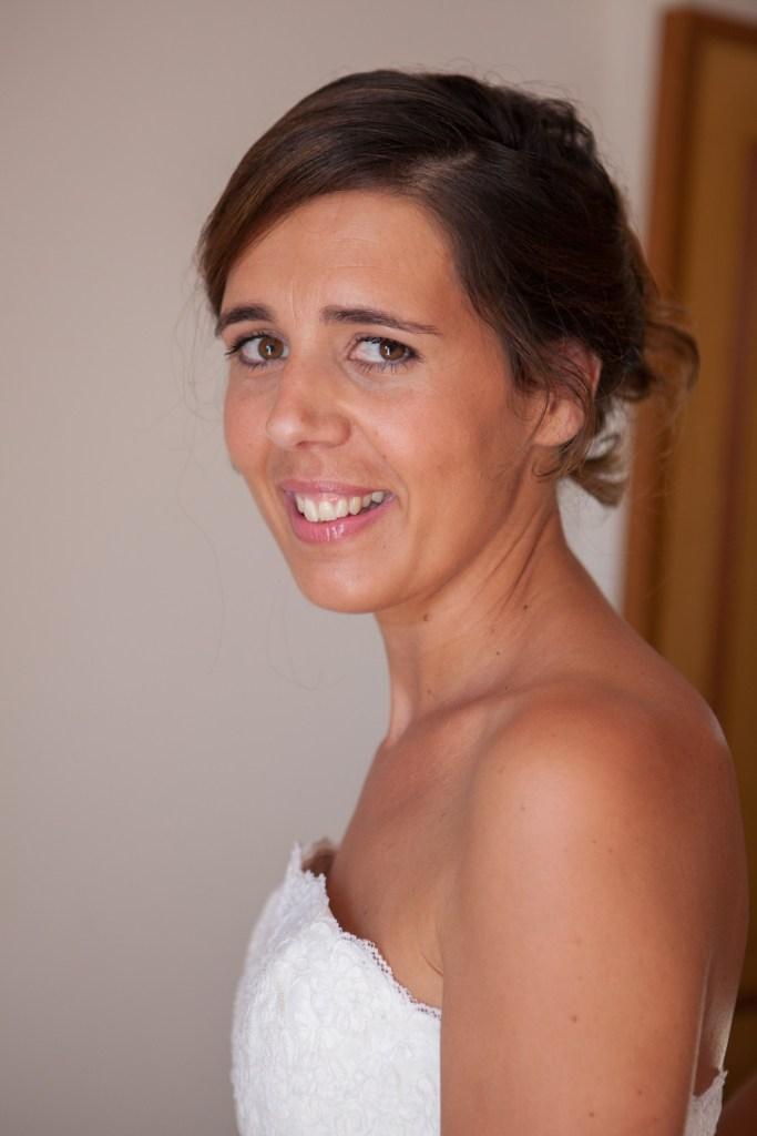 le jour de mon mariage en 2013