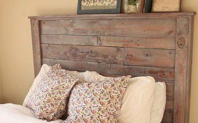 D.I.Y tête de lit palette rustique