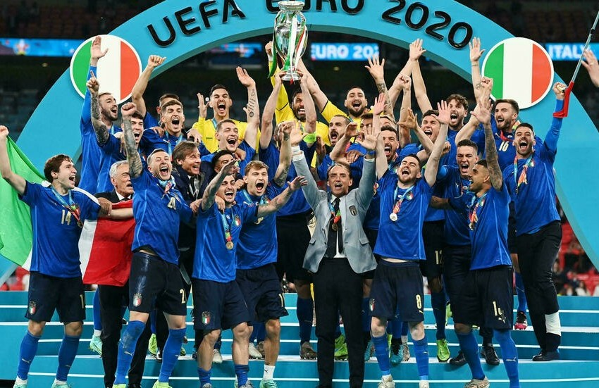 Foot : l'Italie remporte l'Euro 2021 face à l'Angleterre